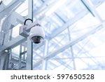 security cctv camera | Shutterstock . vector #597650528