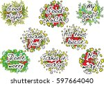 letter design set | Shutterstock .eps vector #597664040