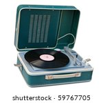 Retro Portable Turntable...