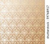 seamless damask vector texture | Shutterstock .eps vector #59768917