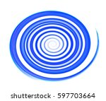 colored circles on  background. | Shutterstock . vector #597703664