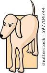 dog | Shutterstock .eps vector #597704744