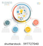 vector illustration info... | Shutterstock .eps vector #597727040