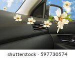air conductors aroma car | Shutterstock . vector #597730574