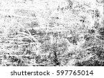 black grunge texture background.... | Shutterstock . vector #597765014