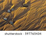 relief from waves on the... | Shutterstock . vector #597765434