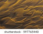 relief from waves on the... | Shutterstock . vector #597765440