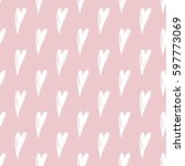 vector seamless pattern with... | Shutterstock .eps vector #597773069
