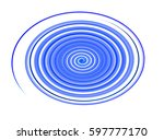 colored circles on  background. | Shutterstock . vector #597777170
