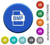 bmp file format round color...   Shutterstock .eps vector #597794498