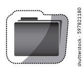 grayscale shett file icon ...