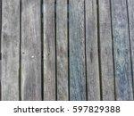 old wood bridge texture   Shutterstock . vector #597829388