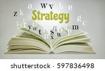 education concept. open book... | Shutterstock . vector #597836498