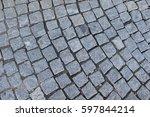 detail sidewalk | Shutterstock . vector #597844214