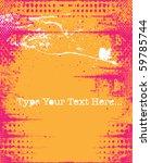 vector grunge background | Shutterstock .eps vector #59785744