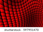 abstract background red square... | Shutterstock .eps vector #597951470