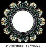 illustration with light blue... | Shutterstock .eps vector #59795323