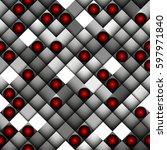 seamless background. geometric...   Shutterstock .eps vector #597971840