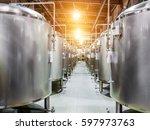Modern Beer Factory. Steel...