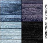 Set Of Wood Texture. Vector