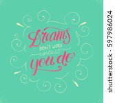 "hand painted inspiration quote ""... 