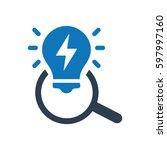 smart scan icon | Shutterstock .eps vector #597997160