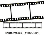 slide film frame numbers are... | Shutterstock .eps vector #59800204