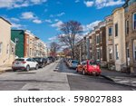 baltimore  maryland   march 3 ... | Shutterstock . vector #598027883