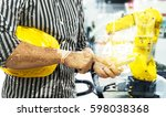industry 4.0 internet of things ... | Shutterstock . vector #598038368