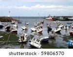 The Port Of Barfleur Caught...