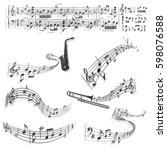 Six Abstract Musical Scores....