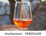 spritz  traditional italian...   Shutterstock . vector #598091630