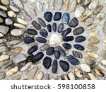 Pebble River Stone Embedded In...