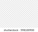 white abstract seamless pattern ... | Shutterstock .eps vector #598100900
