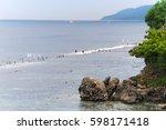 Coast Of The Island Of Nusa...