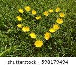 Heart Shape Grown Yellow...