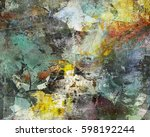 abstract background created by... | Shutterstock . vector #598192244