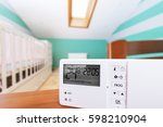 system climate control  smart... | Shutterstock . vector #598210904