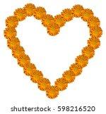 Marigold  Calendula  Heart....