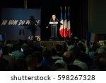 mirande  france   march 9  2017 ... | Shutterstock . vector #598267328