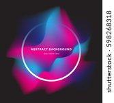 abstract vector illustration.... | Shutterstock .eps vector #598268318