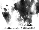 abstract ink background. marble ... | Shutterstock . vector #598269860