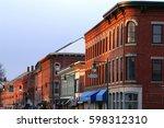 main street u.s.a. | Shutterstock . vector #598312310