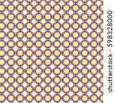 purple tile pattern small | Shutterstock .eps vector #598328000