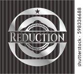 Reduction Silvery Shiny Emblem