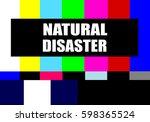 vintage television test pattern ...