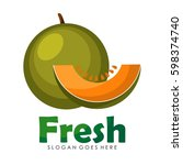 fruits logo icon | Shutterstock .eps vector #598374740