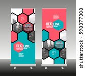 layout design template  cover... | Shutterstock .eps vector #598377308