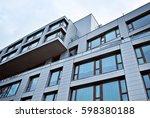 modern  luxury apartment... | Shutterstock . vector #598380188