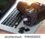 digital photography workstation ... | Shutterstock . vector #598400003
